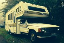 MY HOME: '87 Toyota Dolphin Mini Motorhome / 10/22/13: Bought my toyhouse, started renovations.  3/10/14: starter sleeping in it  5/17/14: first big trip