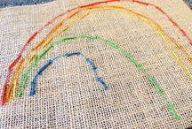 Rainbow-themed activities for kids