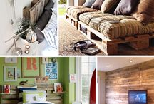 Pallet Ideas / by Julie V