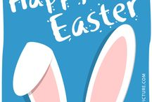 Easter / Easter Vector and Happy Easter Message