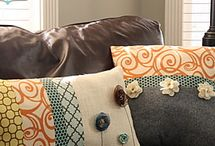 Sewing Pillows / by BlissfulPatterns