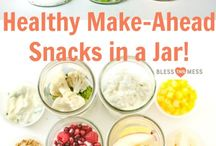 mason jar food prep