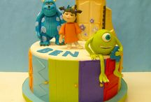 3. Monsters Inc. cake
