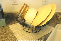 Frugal Decor from Wire Baskets / by Frugal Decorating Diva
