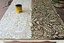 Stenciled Furniture / by Wall to Wall Stencils, Inc.