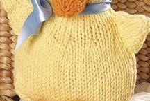 Przytulanki na drutach i szydełku