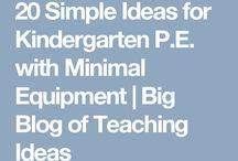 p.e. Kindergarten