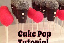 80s Theme Cake Pops