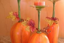 Fall decorations / by Debbie Clark