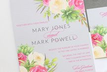 Blush Paperie / Custom invitation designs by Blush Paperie