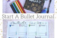 Bullet Journals / My bullet journal craze fulfilled.