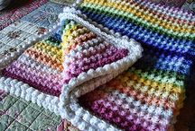 crochet & knitting blankits
