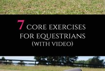Workouts for the Horseback Rider