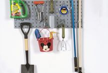 Pegboard Strip Organizers / Pegboard Strips to Organize Tools, Garden, or Laundry
