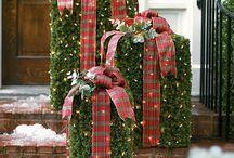 weihnachtsdekoration aussen