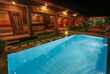 Visit and stay in Villa Puji / The overview on the designed villa Puji in Canggu - close to Seminyak and beach in Bali.
