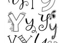 DIY l Handlettering l Letters