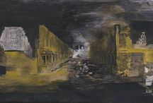 Graham Sutherland / Graham (Vivian) Sutherland was born on August 24, 1903, in Streatham near London. After an apprenticeship and working as an engineer for the railroad, Graham Sutherland studied art at Goldsmiths' College School of Art in London from 1920 until 1925.