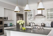 Spring Kitchen Inspiration • LuxDeco.com / Clean and fresh kitchen ideas perfect for spring.