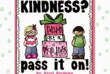 Got Kindness? Pass it On! / A collection of Kindness ideas for the classroom