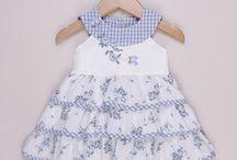 vestidos de bebë