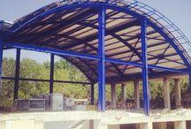 Çelik Yapılar / 1974'ten bu yana gelen bir ustalıkla statik kurallara uygun ekonomik çözüm ortağınız.. www.standartcelik.com Steel and Art