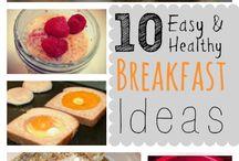 Healthy Breakfast Idea / List Balance Diet Breakfast Idea