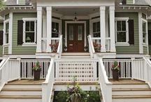 дома в колониальном стиле