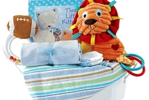 Baby Boy Gift Baskets / Baby Gift Basket Company specializing in cute and adorable Baby Gifts! Find unique and personalized new baby gifts to welcome newborn baby boy and more! http://www.storkbabygiftbaskets.com/baby-boy-gifts.html / by Stork Baby Gift Baskets