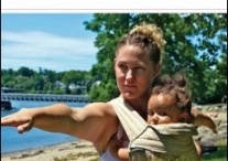Baby wearing fitness