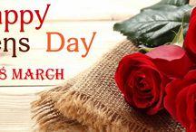 Happy Women's Day / Κυριακή 8 Μαρτίου