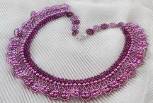 Šitý náhrdelník