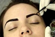 sobrancelha com henna