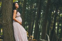 Forest maternity shoot