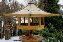 Bird feeding tables