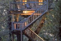 Treehouses Group Pin / These are too cool not to share -- individual subjects, please