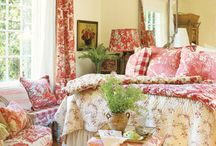 Home ~ beautiful bedrooms. / by Cheryl Parrott Jewelry