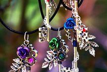 "Keys & Locks: ""Nature's Spirit Necklace, / Keys & Locks: ""Nature's Spirit Necklace,"