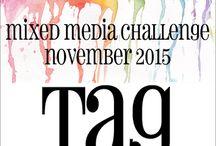 HLS November 2015 Mixed Media Challenge