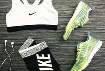 Fitness and workout clothes