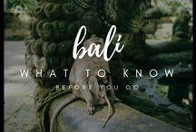 Bali / All Things Bali!