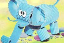 Kids Craft Elephant