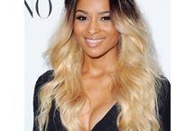 Ombre Hair / Two tone colors ombre human hair.