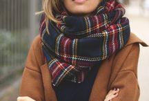Écharpes / Wanted long scarf <3 / A la recherche d'une longue écharpe <3