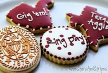 Aggie Eats & Sweets / Maroon + white = some tasty treats. / by Texas A&M University