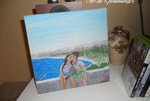 Mel´s paintings / my handmade paintings