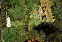 Henry rousseau / Art Henri Rousseau, arte Henry Rousseau (Bachmors artist selection, Saatchi art)