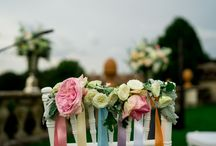 Wedding Chair Designs / Yes here at Tuscan Wedding Planners, even the chairs get considered with beautiful colourful and detailed decorations to make a lasting impression on your special Italian wedding day.