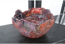Janet McGregor Dunn Ceramic Art / Pottery, ceramics, slab / hand built primarily. Ceramic baskets, sun catchers, functional and decorative pieces. More at www.janetmcgregordunn.com.