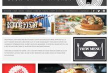Bar etc / Websites, menus, flyers from nice bars, restaurants, Clubs & cafes